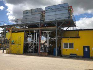 Rozbudowa maszynowni amoniakalnej dla firmy DROP SA